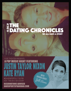 Dating Chronicles Flyer