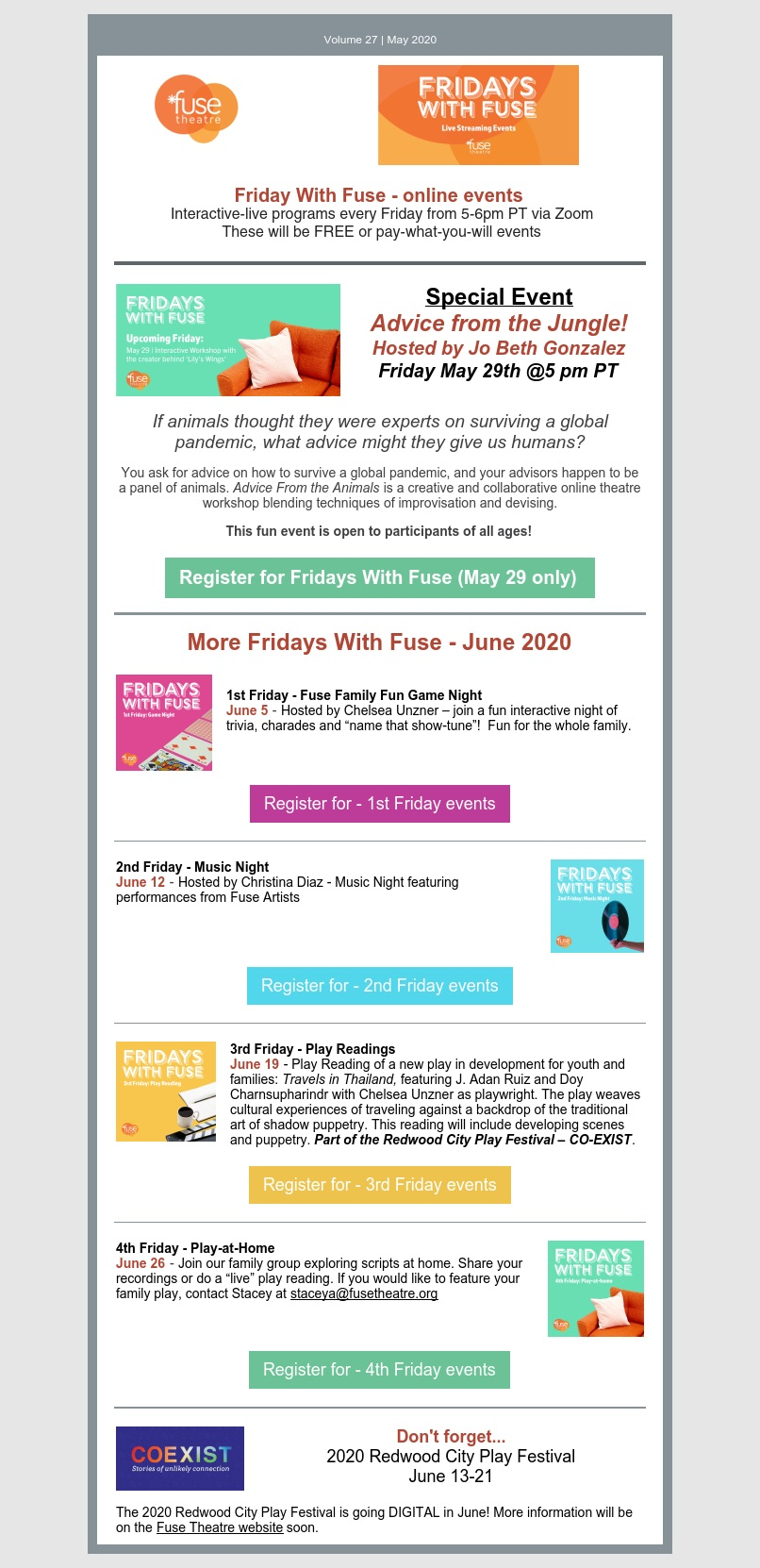Fridays With Fuse May 28 2020